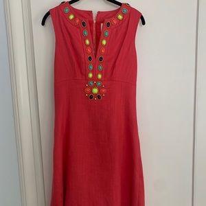 Kate Spade New York linen dress sz 2